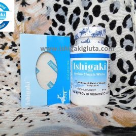 Ishigaki Amino Classic White 60 capsules with Soap