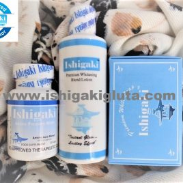 Ishigaki Amino Premium White 30 caps with Soap and Lotion