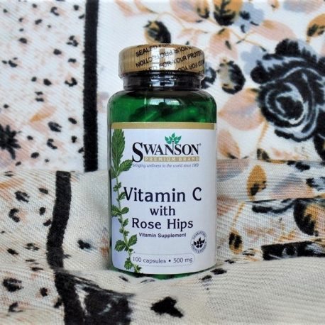 Swanson Vitamin C with Rosehips 500 mg 100 caps