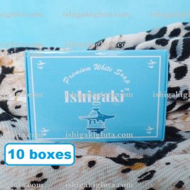 Ishigaki Glutathione Premium White Soap 10 pieces