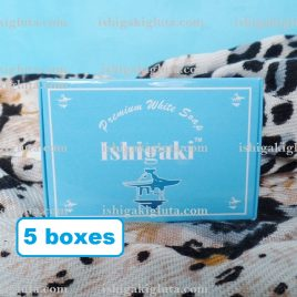 ishigaki glutathione soap 5 pieces