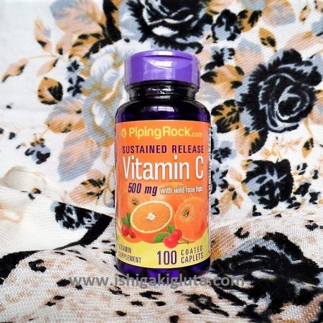Vitamin C with Rosehips Sustained Release 500mg 100 tablets